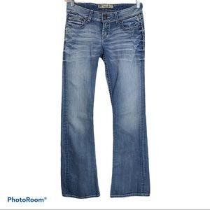 BKE CULTURE Low Boot Cut Jeans 27x 33.5 (30x33)